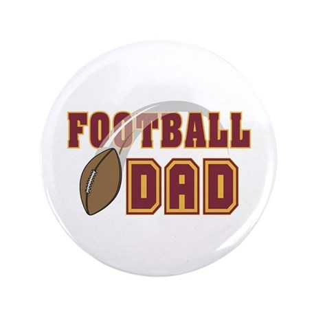 "Football Dad 3.5"" Button (100 pack)"