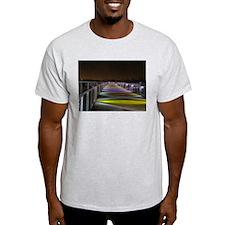 Grays Lake Colorful Bridge T-Shirt