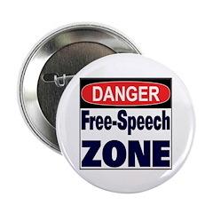 DANGER FREE SPEECH ZONE 2.25