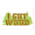 I Got Wood Postcards (Package of 8)