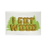 I Got Wood Rectangle Magnet (100 pack)