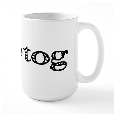 Knit everything together Large Mug