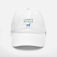 Labrador Retriever (color text) Baseball Baseball Cap