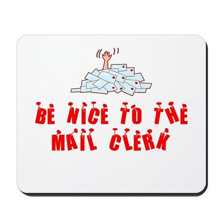 Mail Clerk Mousepad