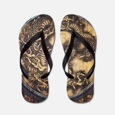 Funny Dragon prints Flip Flops