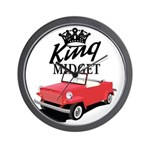 King Midget Wall Clock