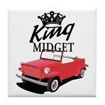 King Midget Tile Coaster