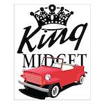 King Midget Small Poster