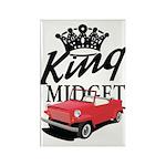 King Midget Rectangle Magnet