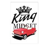 King Midget Postcards (Package of 8)