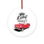 King Midget Ornament (Round)