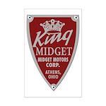 King Midget Mini Poster Print