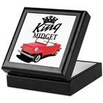 King Midget Keepsake Box