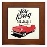 King Midget Framed Tile