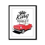 King Midget Framed Panel Print