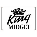 King Midget Banner