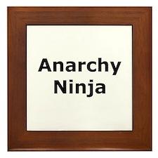 Anarchy Ninja Framed Tile