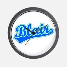Retro Blair (Blue) Wall Clock