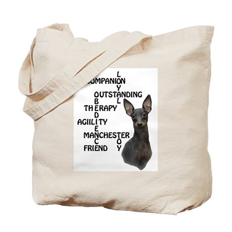 Toy Manchester xword Tote Bag