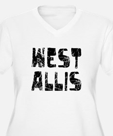 West Allis Faded (Black) T-Shirt