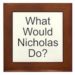 Nicholas Framed Tile