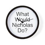 Nicholas Wall Clock