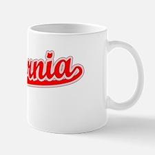 Retro California (Red) Mug