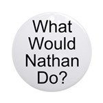 Nathan Ornament (Round)