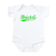 Vintage Bristol (Green) Infant Bodysuit