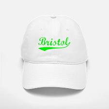 Vintage Bristol (Green) Baseball Baseball Cap