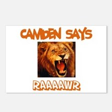 Camden Says Raaawr (Lion) Postcards (Package of 8)