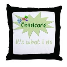 Childcare Throw Pillow