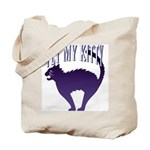 Pet My Kitty Tote Bag