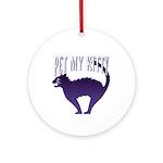 Pet My Kitty Keepsake (Round)