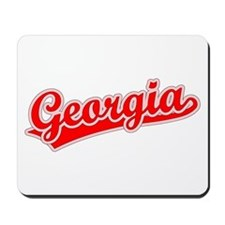 Retro Georgia (Red) Mousepad