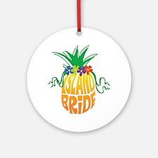 Island Bride Ornament (Round)