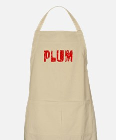 Plum Faded (Red) BBQ Apron