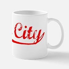Vintage Yuba City (Red) Mug
