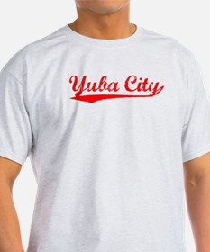 Vintage Yuba City (Red) T-Shirt