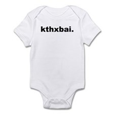 Kthxbai Lolcats Infant Bodysuit