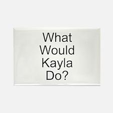 Kayla Rectangle Magnet