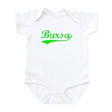 Vintage Bursa (Green) Infant Bodysuit