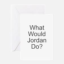 Jordan Greeting Card