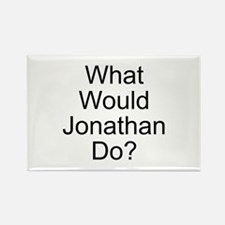Jonathan Rectangle Magnet