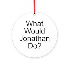 Jonathan Ornament (Round)