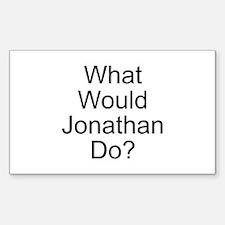 Jonathan Rectangle Sticker 50 pk)