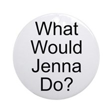 Jenna Ornament (Round)