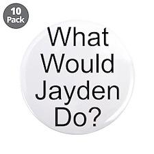 """Jayden 3.5"""" Button (10 pack)"""