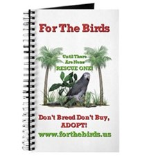 Timneh African Grey Custom Journal