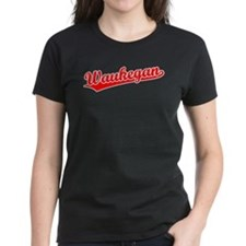 Retro Waukegan (Red) Tee